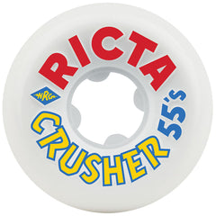 Ricta David Gonzalez ParkCrushers Skateboard Wheels - White - 55mm 83b (Set of 4)