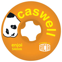 Ricta Enjoi Caswell SLIX Skateboard Wheels - Orange - 54mm 81b (Set of 4)