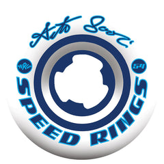 Ricta Arto Saari Speedrings Skateboard Wheels (Set of 4) - White - 54mm 99a