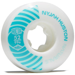 Ricta Nyjah Pro Naturals - White/Teal - 52mm 99a (Set of 4)