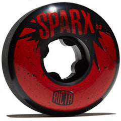 Ricta SPARX - Black/Red - 53mm 101a (Set of 4)