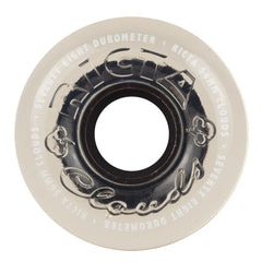 Ricta Crystal Clouds Skateboard Wheels - Clear - 56mm 78a (Set of 4)
