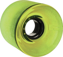 Globe Bantam Skateboard Wheels 62mm 83a - Clear Lime (Set of 4)