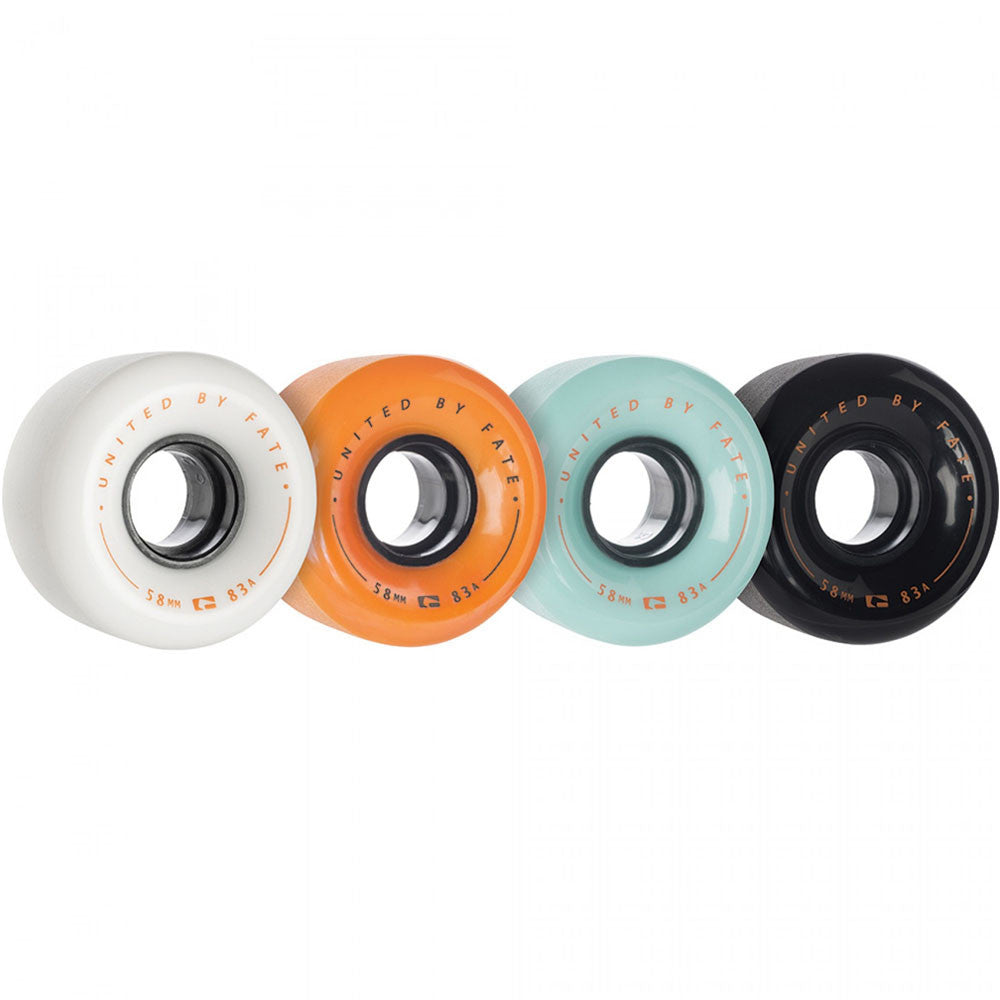 Globe Bruiser Skateboard Wheels - Mash-Up - 58mm 83a (Set of 4)