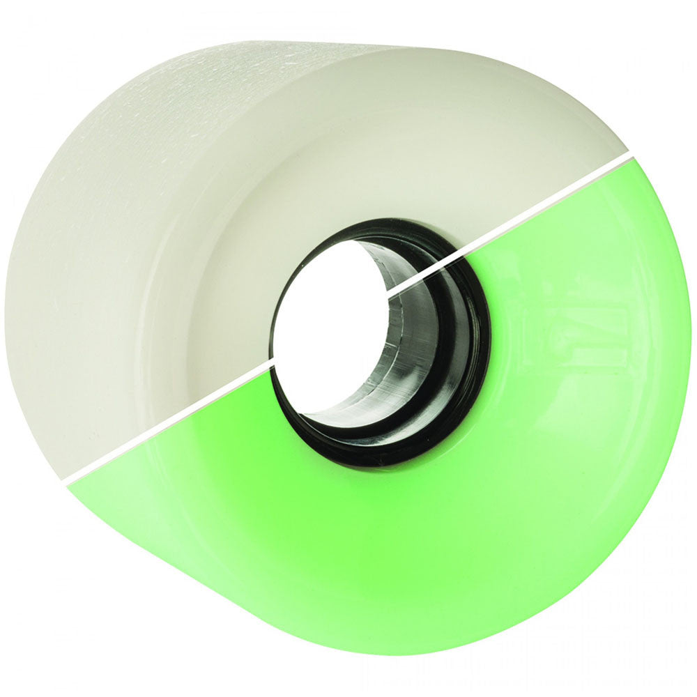 Globe Bantam Skateboard Wheels - Glow In The Dark - 62mm 83a (Set of 4)