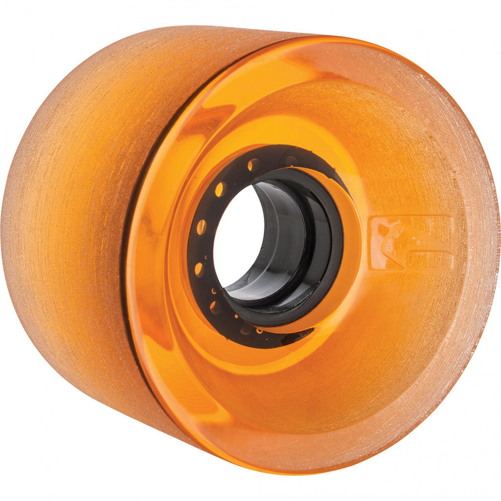 Globe G Icon Skateboard Wheels - Clear Amber - 70mm (Set of 4)