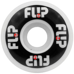 Flip Odyssey Logo Skateboard Wheels - Black/White - 54mm 99a (Set of 4)