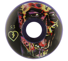 Mystery Club Zombie Skateboard Wheels 53mm - Purple (Set of 4)