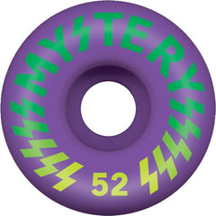 Mystery Victory Skateboard Wheel 52mm - Purple (Set of 4)