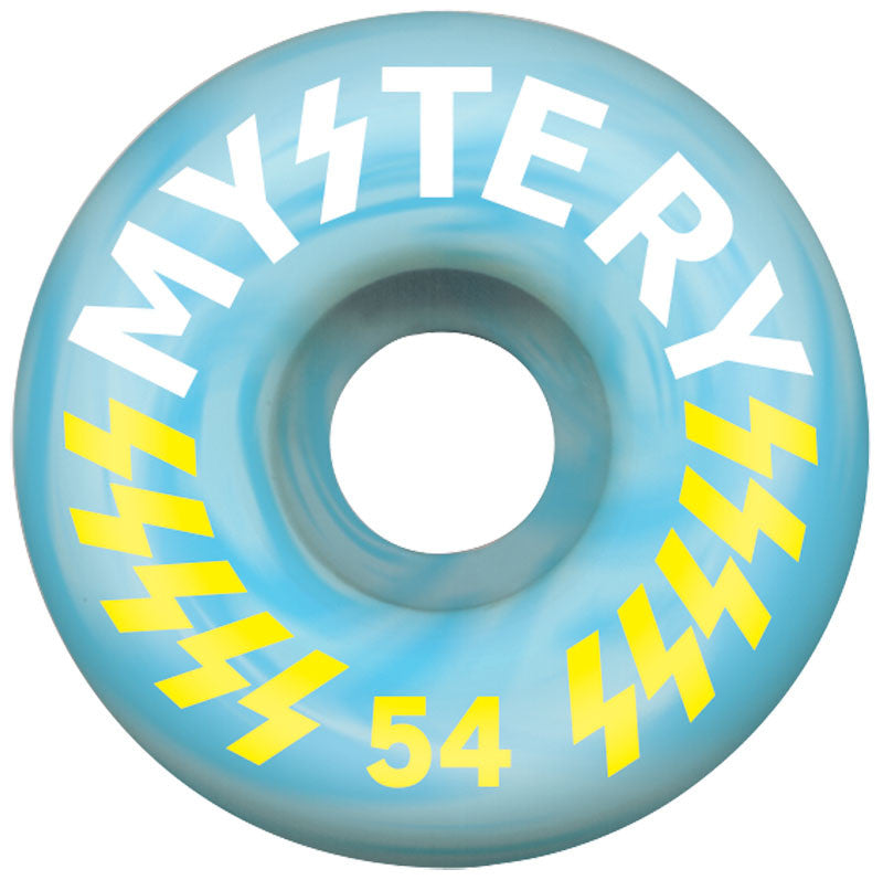 Mystery Victory - Blue Swirl - 54mm - Skateboard Wheel (Set of 4)