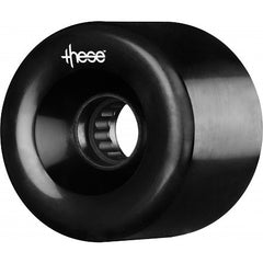 These ATF Centerset 327 Skateboard Wheels 66mm 80a - Black (Set of 4)
