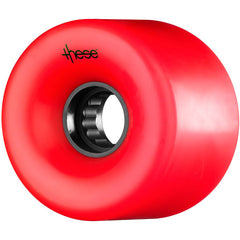 These ATF Centerset 327 Skateboard Wheels 66mm 82a - Red (Set of 4)