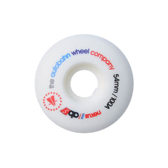 Autobahn Nexus Skateboard Wheels 54mm 100a - White (Set of 4)