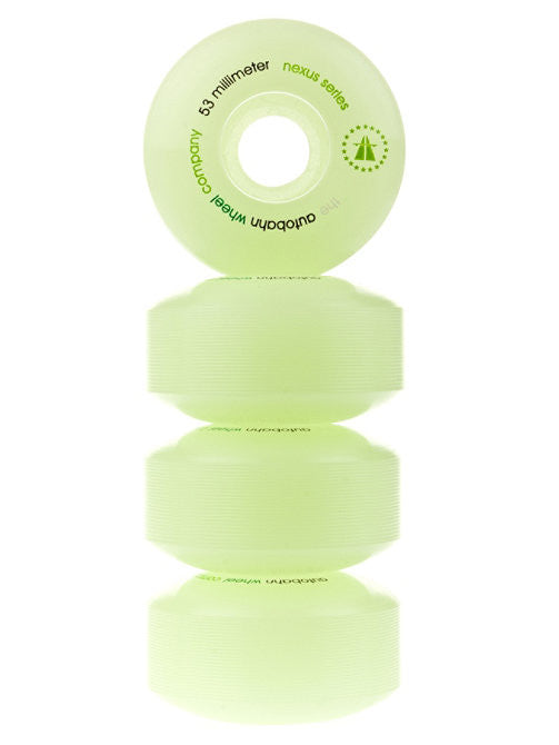 Autobahn Nexus Skateboard Wheels 53mm 100a - Glow (Set of 4)