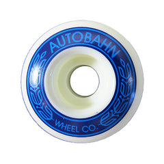 Autobahn AB-S Skateboard Wheels 51mm 99a - White (Set of 4)