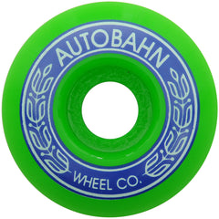 Autobahn AB-S Skateboard Wheels 53.5mm 99a - White (Set of 4)