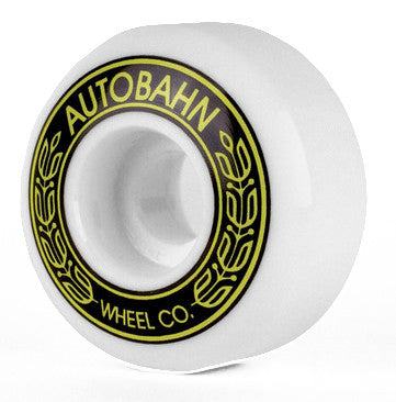 Autobahn AB-S Skateboard Wheels 54mm 99a - White (Set of 4)