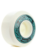 Autobahn AB-S Skateboard Wheels 56mm 99a - White (Set of 4)