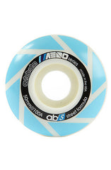 Autobahn Aero Skateboard Wheels 50mm 100a - White (Set of 4)