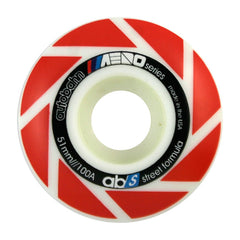 Autobahn Aero Skateboard Wheels 51mm 100a - White (Set of 4)