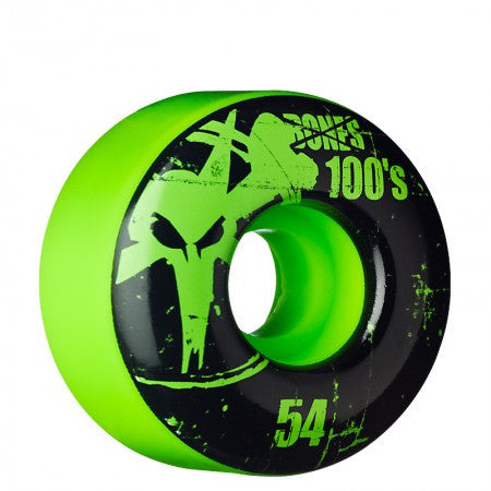 Bones O.G. Formula V1 Skateboard Wheels 54mm - Green (Set of 4)