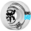 Bones SPF Sonic V4 Skateboard Wheels - White - 54mm (Set of 4)