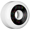 Bones STF Raybourn Neon V5 Skateboard Wheels - White - 53mm (Set of 4)