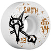 Bones STF Smith Vato Op V4 Skateboard Wheels - White - 53mm (Set of 4)