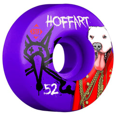 Bones STF Hoffart Prince V3 Skateboard Wheels - Purple - 52mm (Set of 4)