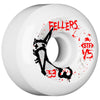 Bones STF Fellers Vato Op V5 Skateboard Wheels - White - 53mm (Set of 4)