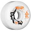 Bones STF Wieger Vato Op V5 Skateboard Wheels - White - 54mm (Set of 4)