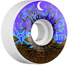 Bones STF Pro Smith Mandalas Skateboard Wheels - Purple/White - 52mm 83b (Set of 4)