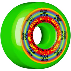 Bones Pro Ngoho Pride SPF Skateboard Wheels - Green - 56mm 84b (Set of 4)