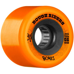 Bones Rough Rider ATF Skateboard Wheels - Orange - 56mm 80a (Set of 4)