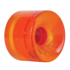OJ Hot Juice Skateboard Wheels 60mm 78a - Orange Glitter (Set of 4)