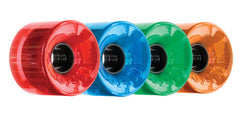 OJ Hot Juice Candy Skateboard Wheels 60mm 78a - Translucent Red/Blue/Green/Orange (Set of 4)
