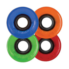 OJ Hot Juice Mini Candy Skateboard Wheels 55mm 78a - Red/Blue/Green/Orange (Set of 4)