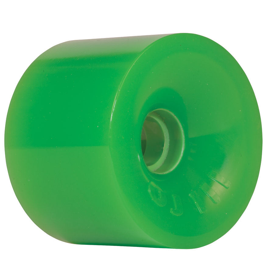 OJ Thunder Juice Skateboard Wheels 75mm 78a - Neon Green (Set of 4)