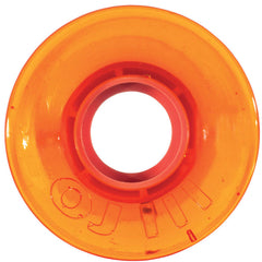 OJ Hot Juice Mini Skateboard Wheels - Translucent Orange - 55mm 78a (Set of 4)