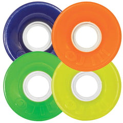 OJ Hot Juice Skateboard Wheels - Colors Mix Up - 60mm 78a (Set of 4)