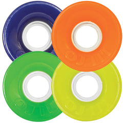 OJ Hot Juice Mini Skateboard Wheels - Colors Mix Up - 55mm 78a (Set of 4)