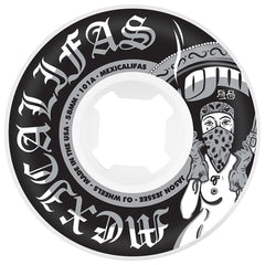 OJ Jessee Mexicalifas Hard Edge - 58mm 101a - White/Black (Set of 4)