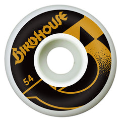 Birdhouse B Side Skateboard Wheels 54mm - White (Set of 4)