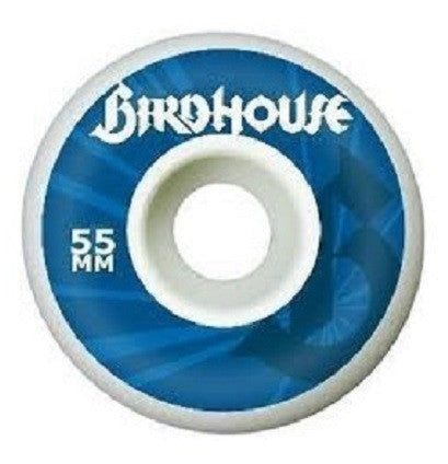 Birdhouse Burst Skateboard Wheels 55mm - White (Set of 4)