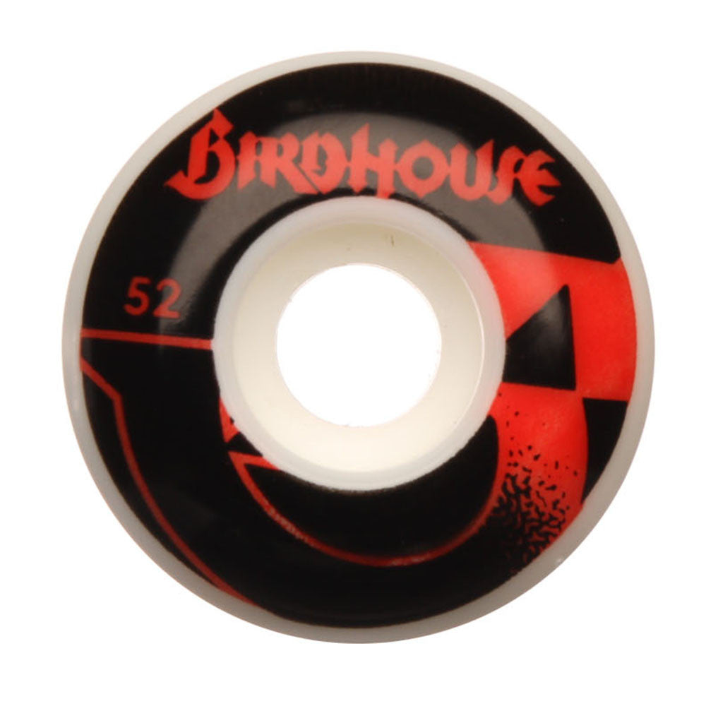 Birdhouse B-Side Skateboard Wheels - White - 52mm (Set of 4)