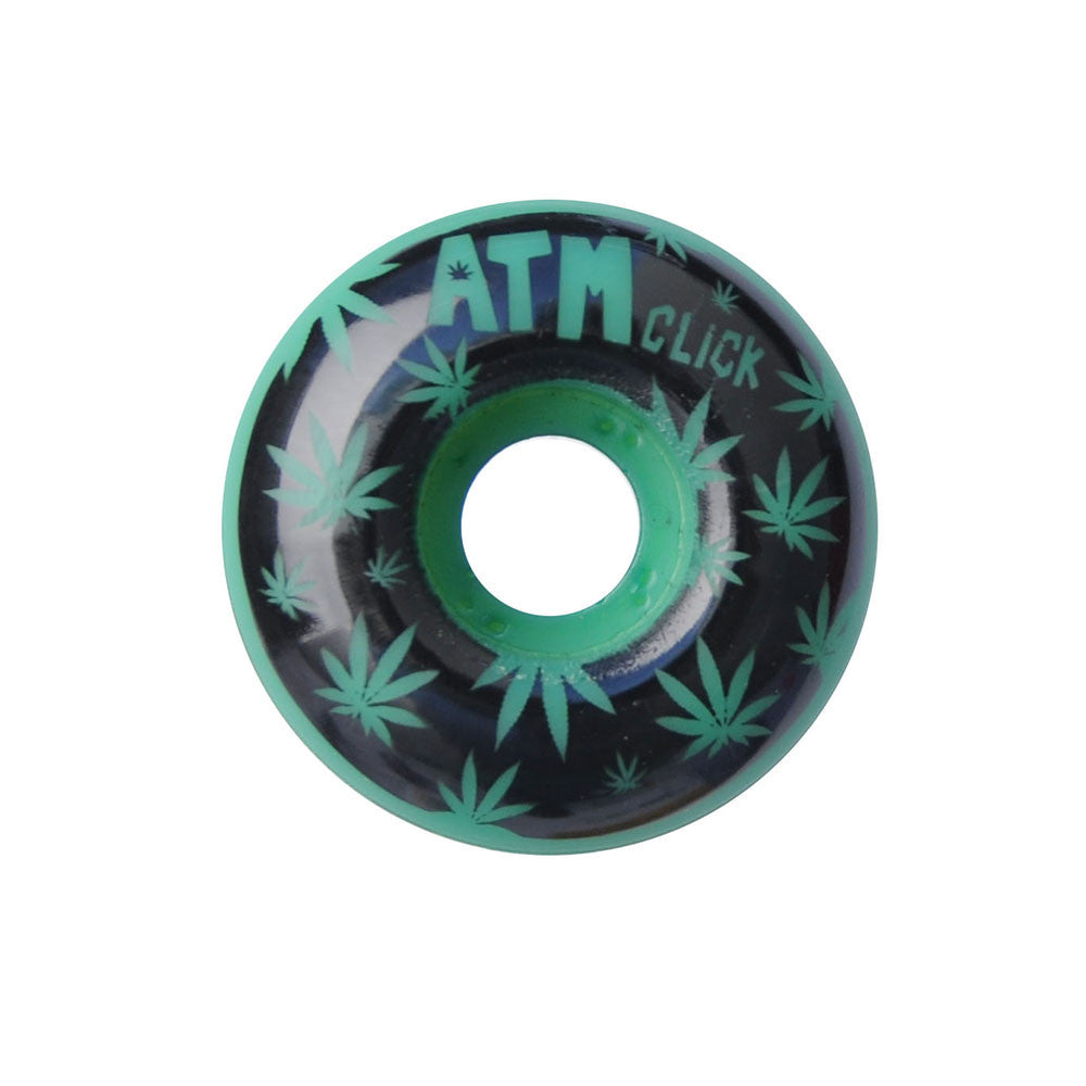 ATM One Hit Wonders PP - Green - 52mm - Skateboard Wheels (Set of 4)