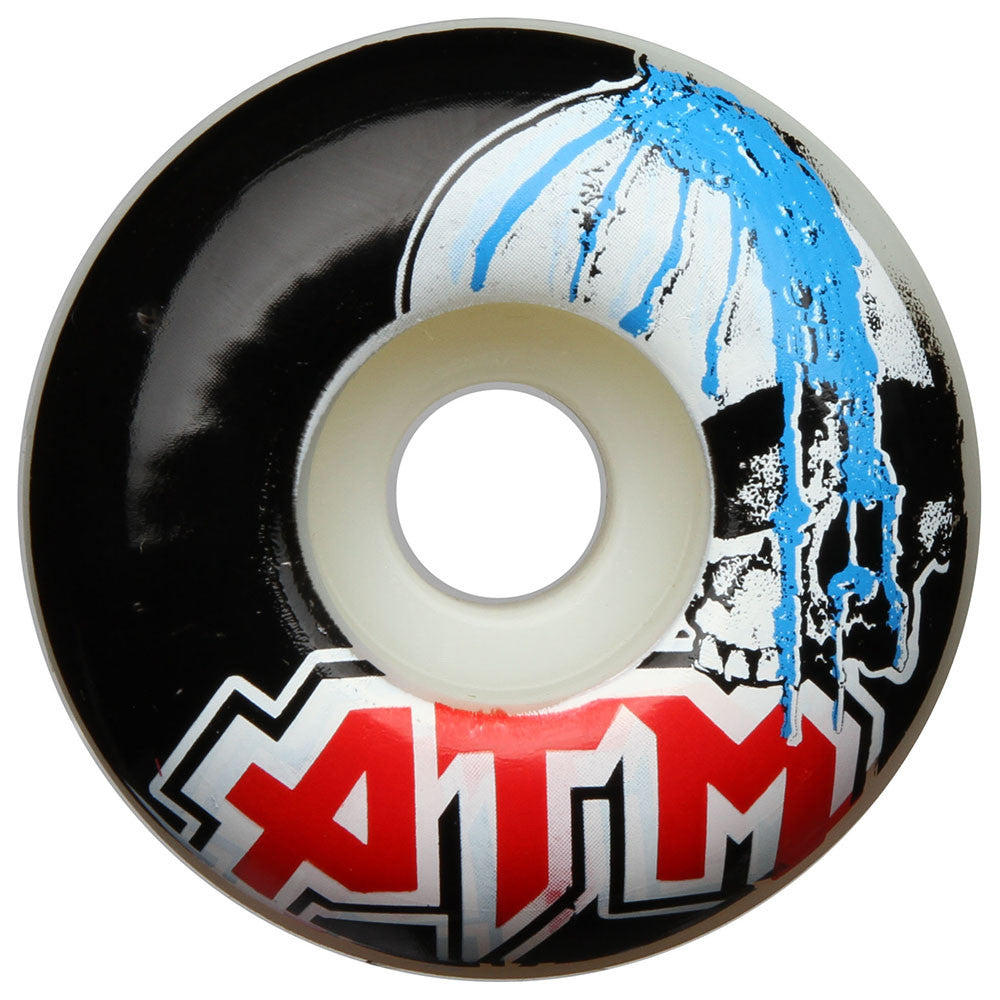 ATM Runoff PP Skateboard Wheels - White - 52mm (Set of 4)