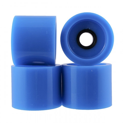 Cadillac Cruzer Skateboard Wheels 70mm - Neon Blue (Set of 4)