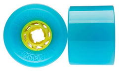 Seismic Speed Vent Skateboard Wheels 77mm 80a - Blue (Set of 4)