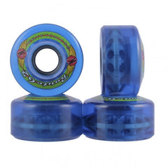Kryptonics Route Skateboard Wheels 62mm - Blue (Set of 4)